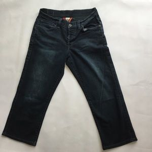 Lucky Brand Button Fly Crop Jeans Size 4/27